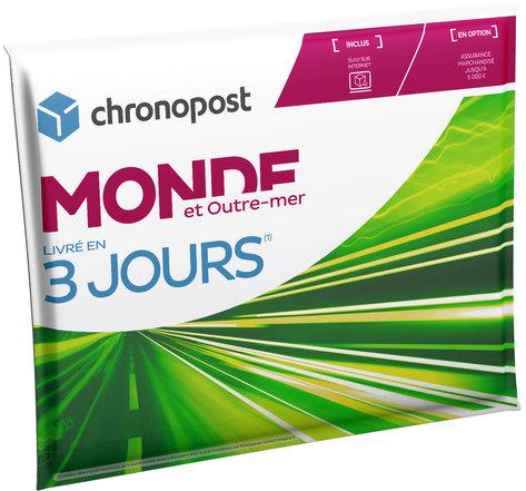 Pochette matelassée Chronopost - 2 kg - Monde et Outre-Mer - 2019