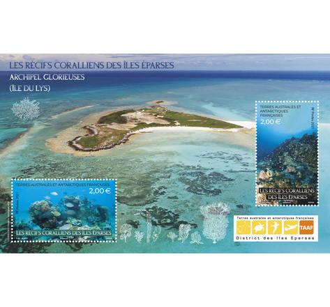 TAAF- Bloc - Les récifs coralliens