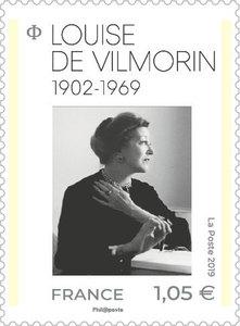 Timbre - Louise de Vilmorin