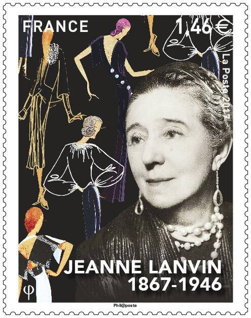Timbre - Jeanne Lanvin - 1867-1946