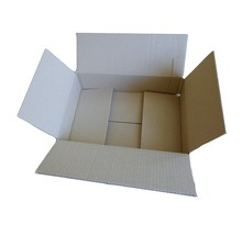 Lot de 10 cartons d'emballage 31 x 21 x 7,5 cm