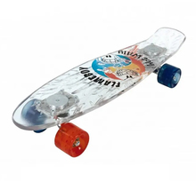 Skateboard Retro Cruiser Lumineux Flameboy