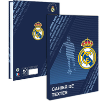Cahier de texte Real Madrid - 6 onglets