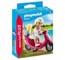 PLAYMOBIL 9084 - Vacanciere avec Scooter