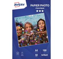 Papier photo brillant