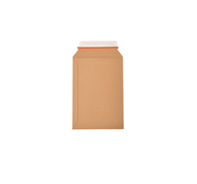 Lot de 5 enveloppes carton B-Box 1 MARRON format 176x250 mm