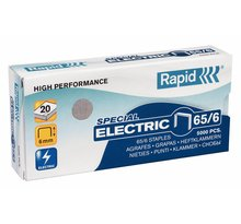 Agrafes Electric Super Strong 65/6 galvanisé en boite de 5000 RAPID