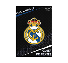 Cahier De Textes - 17x22cm - Club de Football Real Madrid FC