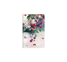 Chacha - Carnet 7,5 x 12 cm - 48 pages Blanches - Tropical Oiseau Violet