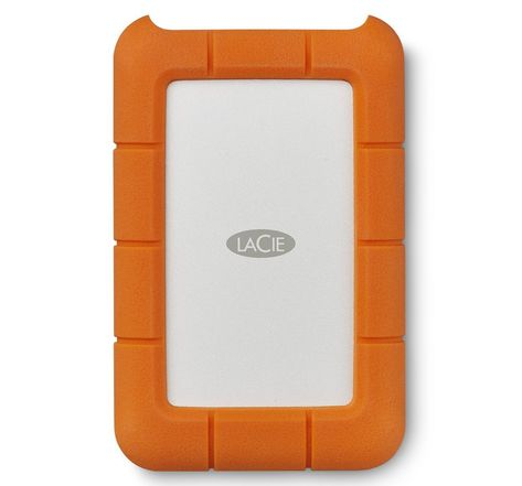 Disque Dur Externe LaCie Rugged 5To USB 3.1 type C - 2,5""