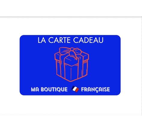 La carte cadeau Ma Boutique Francaise 50€