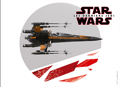 Le chasseur stellaire X-Wing