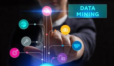 illustration avec le mot data mining