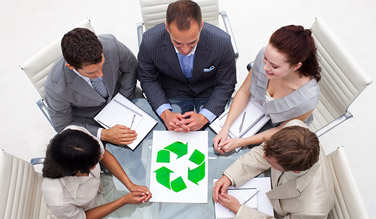 Le Groupe La Poste et Suez créent une société commune dans le recyclage des déchets de bureau