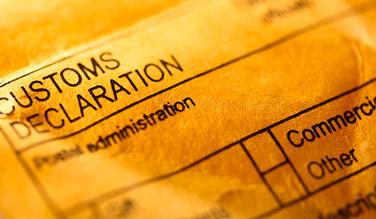 Nouvelle réglementation sur les douanes