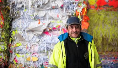 Tri des déchets et insertion professionnelle à la CAF de la Seine-Saint-Denis