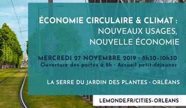 Economie circulaire et climat : nouveaux usages, nouvelle économie