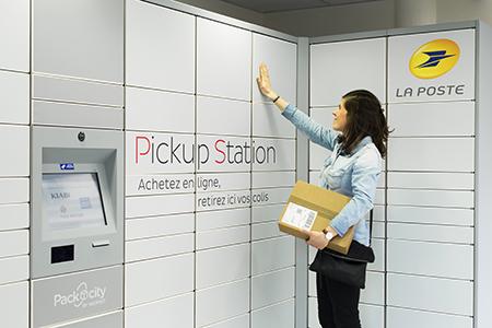 La livraison de vos colis en consigne pickup station