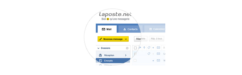 Laposte mail net for Messerie fr