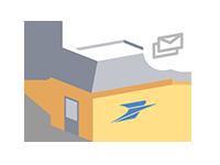 Produits et services courrier et colis la poste for La poste suivi de courrier temporaire