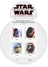 Collector Star Wars - 4 timbres