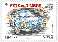 Timbre - Alpine Renault A110