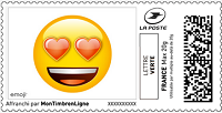 Timbres à imprimer - emoji