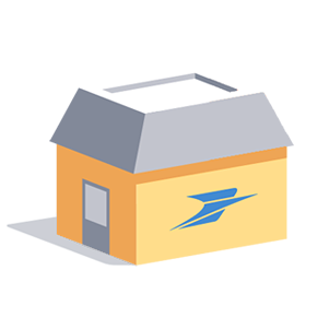 Bureaux de poste for Bureau de poste