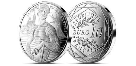 monnaie de paris jean paul gaultier la poste