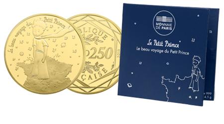 monnaie de paris petit prince or