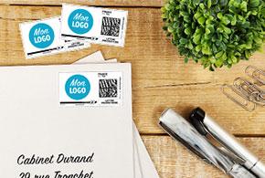 Imprimer des timbres avec votre logo