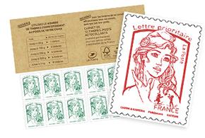 Commander des timbres