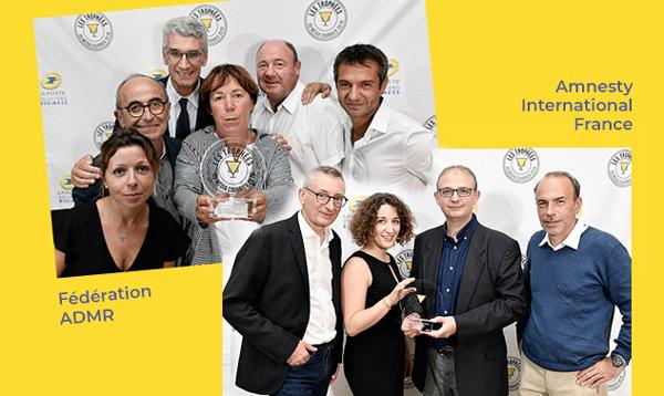 trophées media courrier 2018