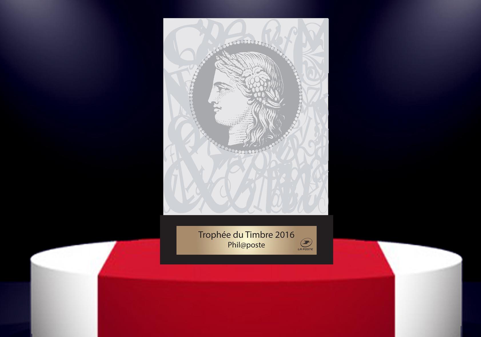 Découvrez le palmarès des Trophées du Timbre 2016