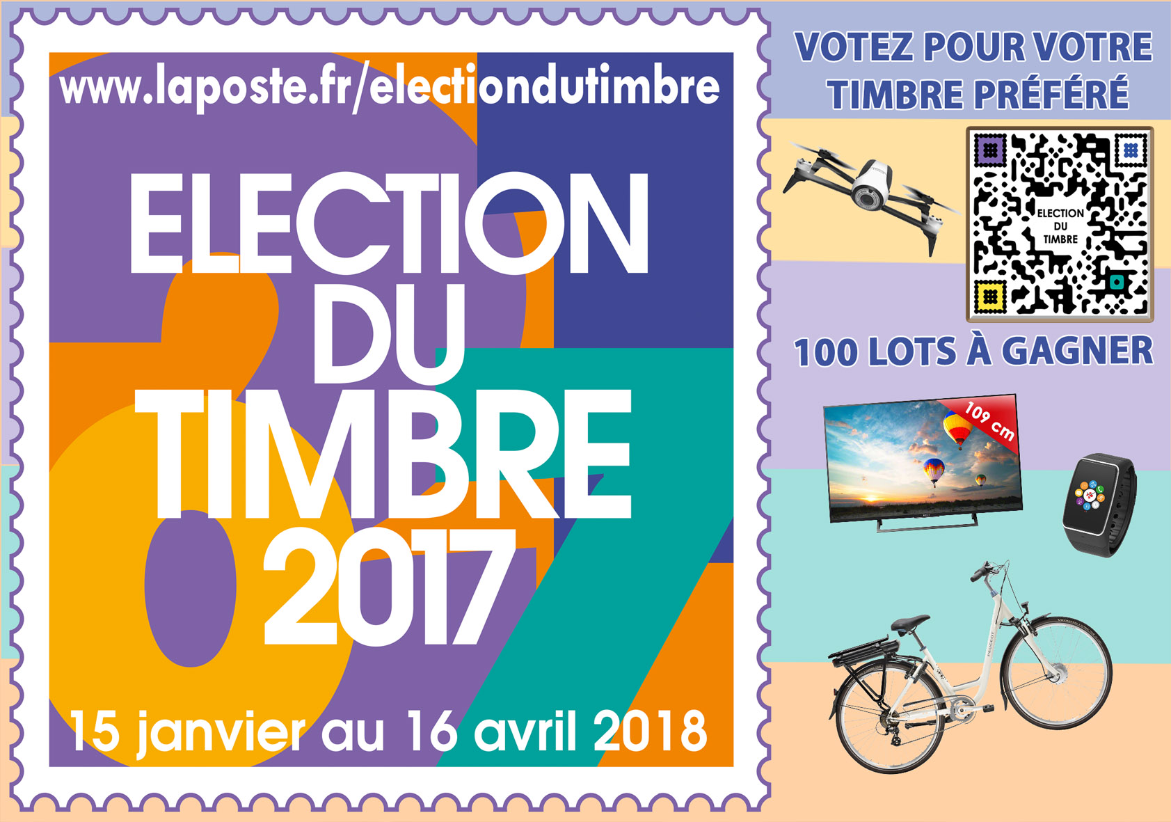 Election du Timbre 2017
