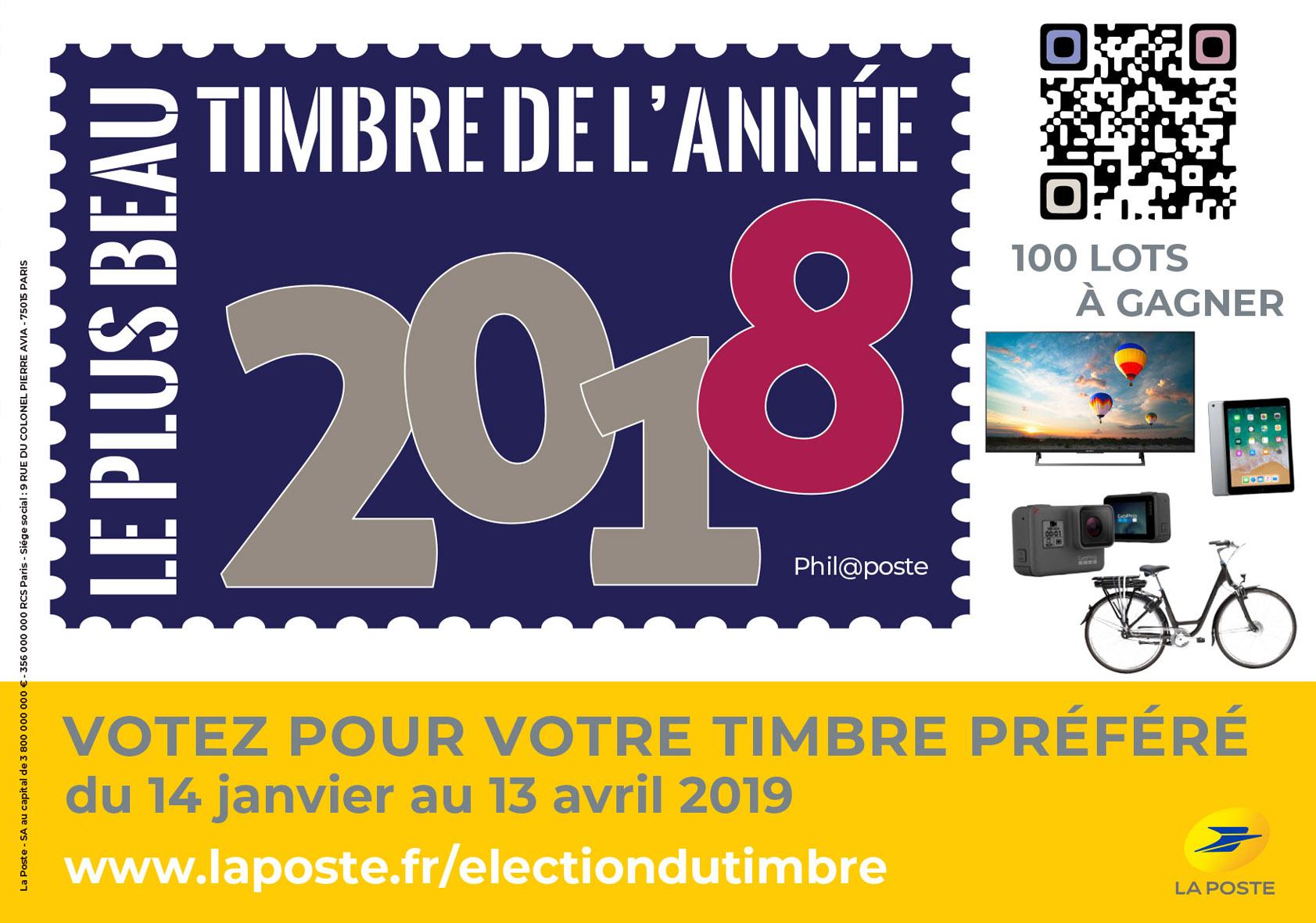 Election du Timbre 2018