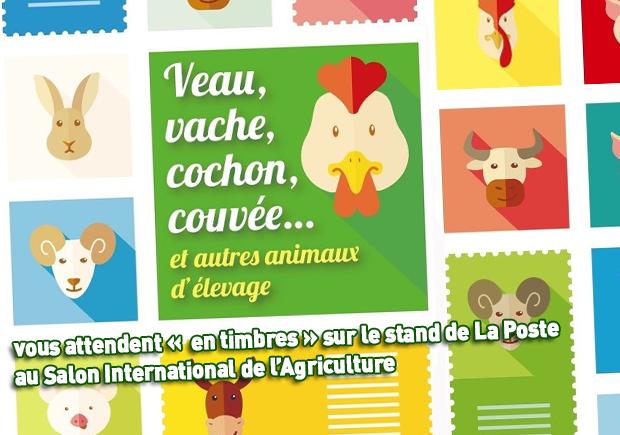 Philat liste collectionneur la poste le nouveau portail du timbre - Le salon de l agriculture en direct ...