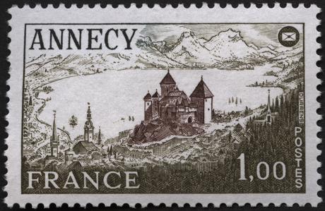 Congrès national de la fédération des sociétés philatéliques française à Annecy-1935