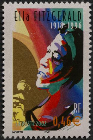 Ella Fitzgerald : 1918-1996-3503