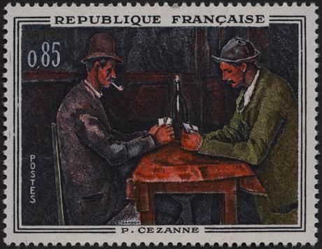 P. Cézanne : Joueurs de cartes-1321