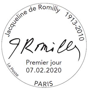 TAD jacqueline de romilly